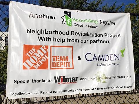 Camden Cares 2016 Event in North Dallas