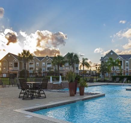 Pool at Camden South Bay Apartments in Corpus Christi, TX