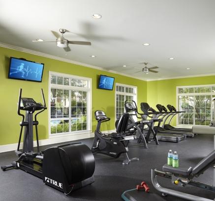 Fitness Center at Camden St. Clair Apartments in Atlanta, Georgia