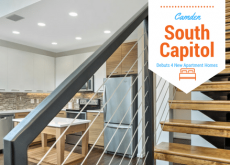 Camden South Capitol Debuts 4 New Apartment Homes